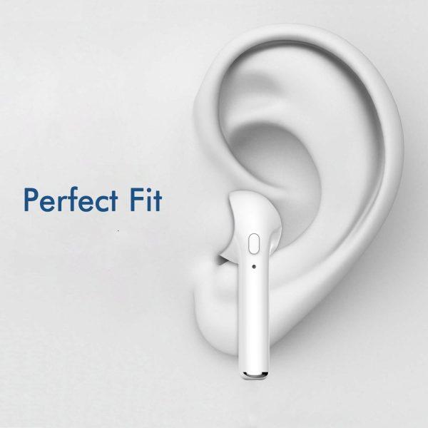 Bluetooth Slušalice IN-EAR TWE (bijele) - VAKOSS