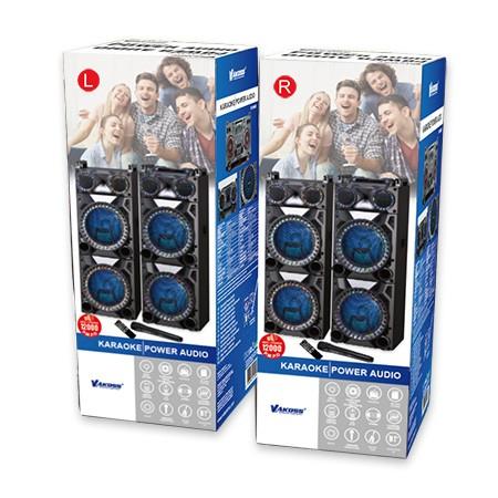 Karaoke Bluetooth Super Power Audio SET (2x120 W) - VAKOSS