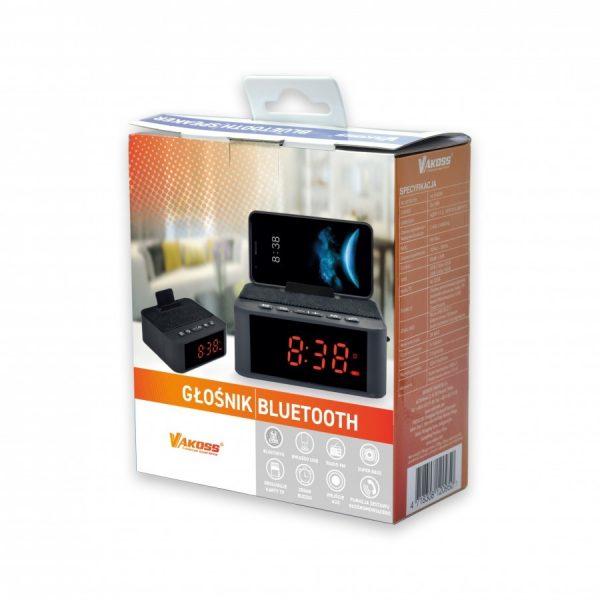 Bluetooth zvučnik sa satom i budilicom - VAKOSS