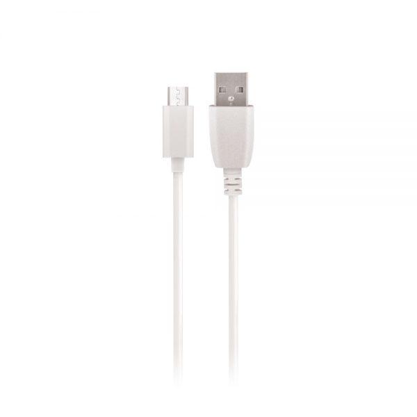 MicroUSB kabel 2A (1m) Bijeli - SETTY