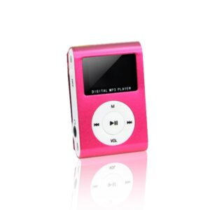MP3 player s LCD zaslonom + slušalice, Crvena - SETTY