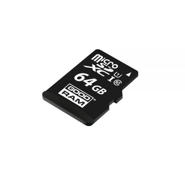 MicroSD 64GB class10 UHS I s adapterom - GOODRAM