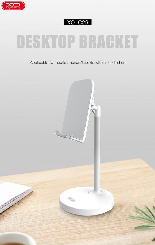 Stolni dražač / nosač za smartphone C42 (crni) - XO