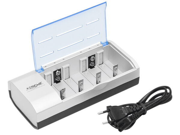 Punjač baterija XTREME XN-106 za punjenje AA / AAA / C / D / 9V baterija