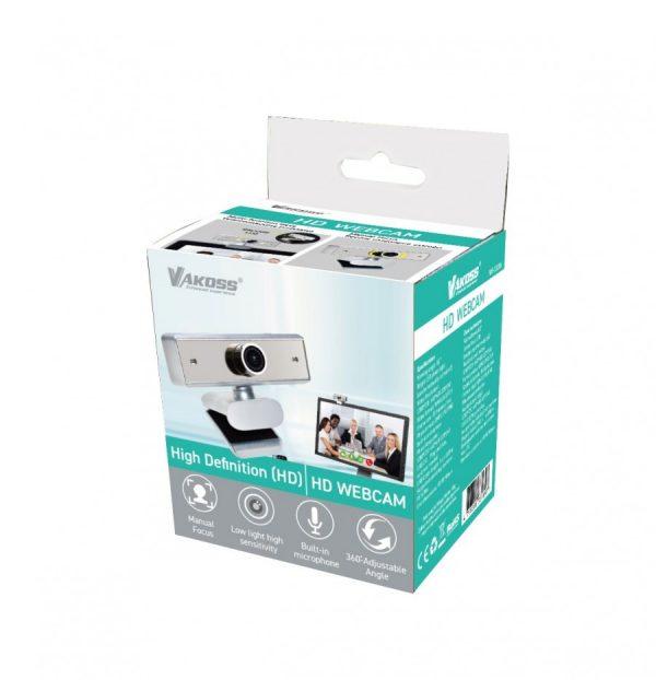 Web HD kamera WS-3328, crno-siva - VAKOSS