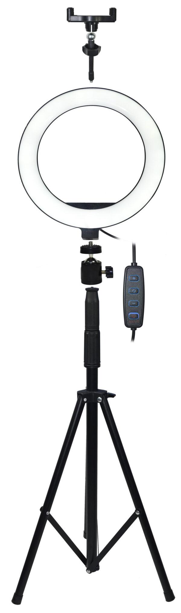 Prstenasta LED make-up svjetiljka sa stativom 200cm - VAKOSS