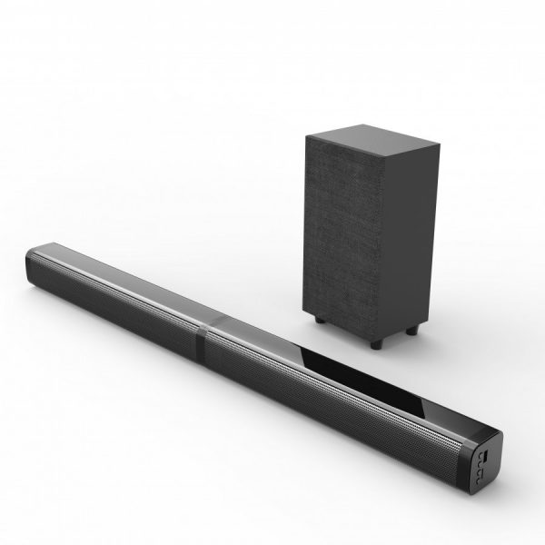 Bluetooth Soundbar 2.1 + Subwoofer 40W SP-2851BK, crni - VAKOSS