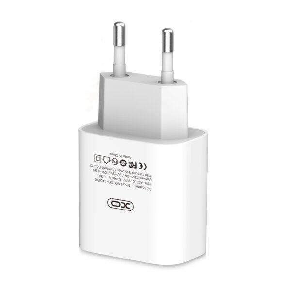 Zidni punjač L40 PD 3.0 USB-C 18W Bijeli - XO